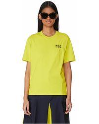 Nina Ricci T-shirt brodé en coton - Vert