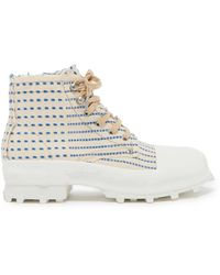 CAMPERLAB Traktori Ankle Boots - White