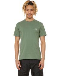 A.P.C. Short-sleeved Cotton T-shirt - Green