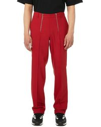 GmbH Pantalon Talc tailleur - Rouge