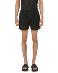 Rick Owens Shorts X Champion - Black