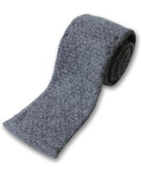 Private White V.c. - Knitted Lambswool Tie - Lyst