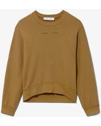 PROENZA SCHOULER WHITE LABEL Logo Sweatshirt - Brown
