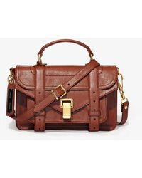 Proenza Schouler Ps1 Tiny - Brown