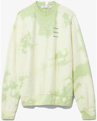 PROENZA SCHOULER WHITE LABEL Tie Dye Sweatshirt - Multicolour