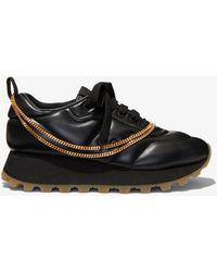 Proenza Schouler Puffy Chain Sneakers - Black