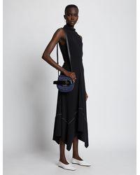 Proenza Schouler Buckle Mini Crossbody Bag - Blue