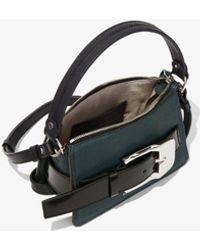 Proenza Schouler Small Buckle Zip Bag - Black