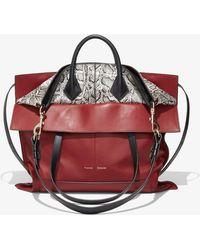 Proenza Schouler Elaphe Ps19 Large Bag - Red