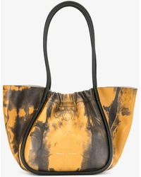 Proenza Schouler - Large Tie Dye Ruched Tote - Lyst