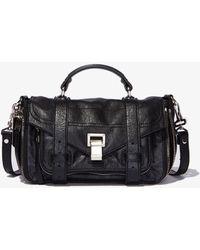 Proenza Schouler Ps1+ Tiny Zip Bag - Black