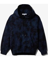 Proenza Schouler Ink Blotch Hoodie - Blue