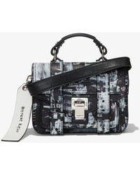 Proenza Schouler X Harmony Korine Ps1 Micro Bag - Black