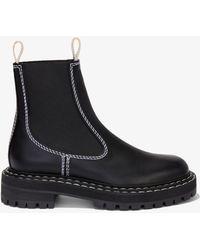 Proenza Schouler Lug Sole Chelsea Boots - Black