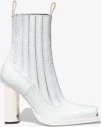 Proenza Schouler High Chelsea Boots - White