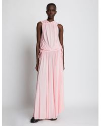 Proenza Schouler - Matte Jersey Draped Dress - Lyst