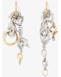 Proenza Schouler Chain Earrings - Metallic