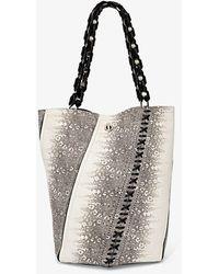 Proenza Schouler Medium Hex Bucket Bag - Gray