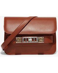 Proenza Schouler Ps11 Mini Classic - Brown