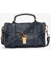 Proenza Schouler Ps1 Tiny Bag - Blue