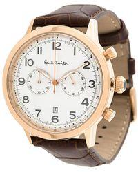 Paul Smith Embossed Bracelet Watch - Multicolour