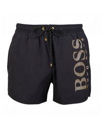 BOSS by Hugo Boss Icefish Swimshorts - Black