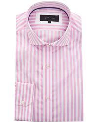 1 Like No Other - Cotton Block Stripe Shirt - Lyst