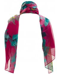 Joules Soft Striped Scarf - Blue