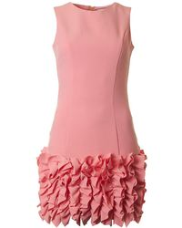 BOURNE - Harper Ruffle Bottom Sleeveless Dress - Lyst