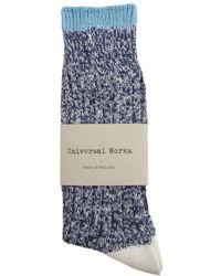 Universal Works - Soft Cotton Socks - Lyst