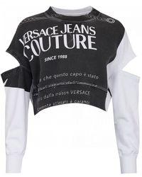Versace Jeans Warranty Label Sweat - Black
