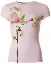 Ted Baker - Harmony Print Fitted - Lyst