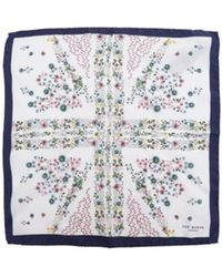 Ted Baker - Uniflag Flag Pocket Square - Lyst