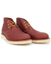 Red Wing - Heritage Work Chukka Boots - Lyst