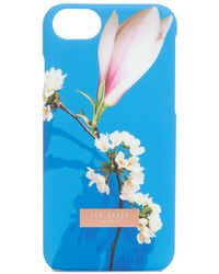 Ted Baker - Harmony Print Snap On Iphone 7 Case - Lyst