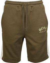 BOSS by Hugo Boss Headlo Shorts - Green
