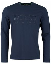 BOSS Athleisure - Togn Us Big Logo Crew Neck - Lyst