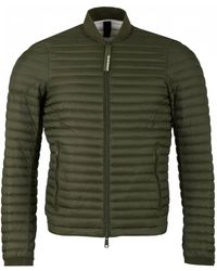 Armani - Lightweight Down Bomber Jacket - Lyst