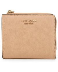 Kate Spade Sylvia Small Bifold Purse - Natural