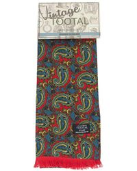Tootal | Paisley Reversible Silk Scarf | Lyst