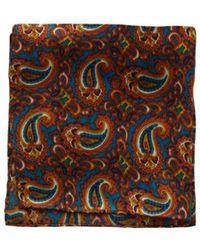 Tootal - Paisley Silk Handkerchief - Lyst