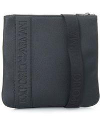 Armani Jeans   Grain Leather Stash Bag   Lyst