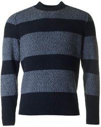 BOSS by Hugo Boss - Arbieri 2 Colour Striped Knit - Lyst