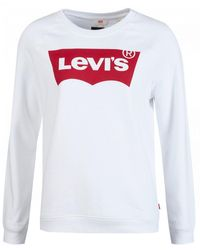 Levi's Relaxed Graphic Crew Sweat - White