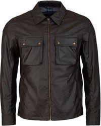 Belstaff Dunstall Waxed Jacket - Green