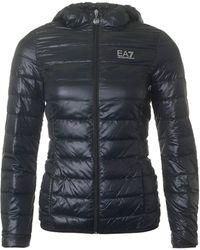 EA7 - Pack Away Lightweight Jacket - Lyst
