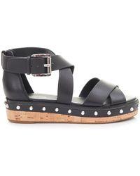 Michael Kors - Darby Chunky Stud Sandals - Lyst