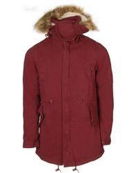 Native Youth - Sherpa Lined Fur Hooded Parka - Lyst
