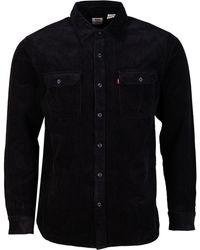 Levi's Jackson Worker Cord Shirt - Black