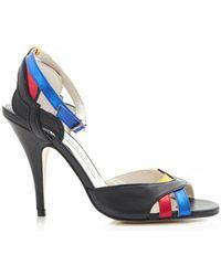 Terry De Havilland - Kate Low Heel Sling Back Shoes - Lyst